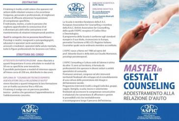 master gestalt counseling